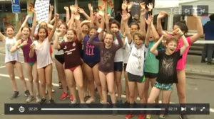 500 élèves ont testé l'aquathlon!